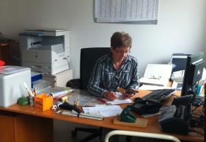 Gemeindebüro, Helga Krauß